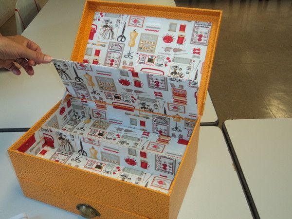 Cartonnage page 13 - Fabriquer une boite a bijoux ...